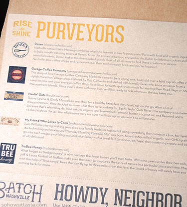 Batch Nashville on So, How's It Taste? www.sohowsittaste.com