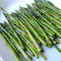 Roasted Asparagus with Balsamic Browned Butter by So, How's It Taste? www.leah-claire.com