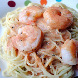 Shrimp Parma Rosa by So, How's It Taste? www.sohowsittaste.com