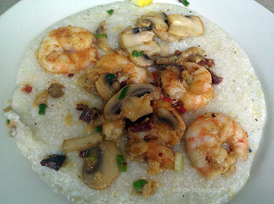 Shrimp and Grits on So, How's It Taste? www.sohowsittaste.com