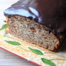 Banana Bread with Chocolate Glaze by So, How's It Taste?