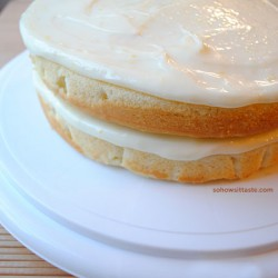Fresh Lemonade Cake by So, How's It Taste?