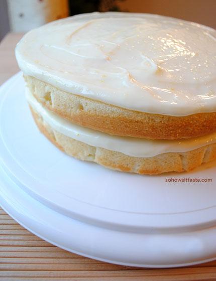 Fresh Lemonade Cake by So, How's It Taste?