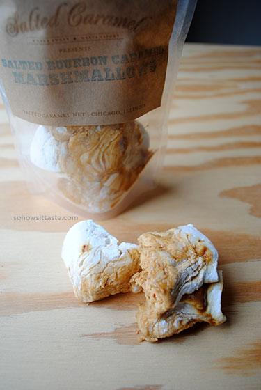 Salted Bourbon Caramel Marshmallows on So, How's It Taste?