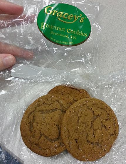 Gracey's Gourmet Ginger Cookies on So, How's It Taste?