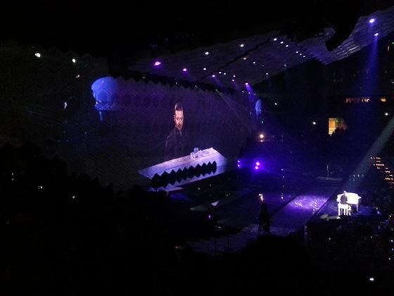 Justin Timberlake on Piano