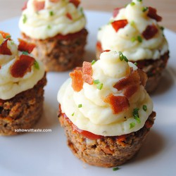 Meatloaf Cupcakes by So, How's It Taste?
