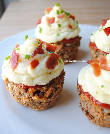 Meatloaf Cupcakes by So, How's It Taste?