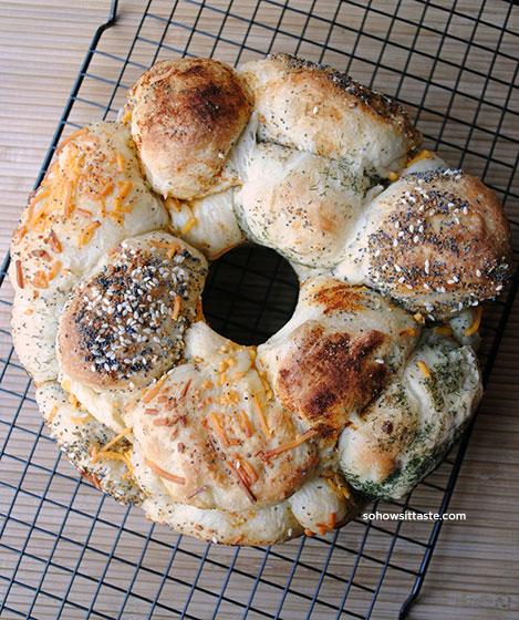 Savory Monkey Bread on So, How's It Taste?