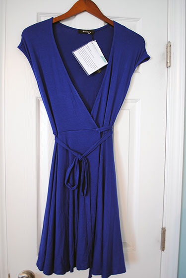 41Hawthorn, Calafia Jersey Wrap Dress