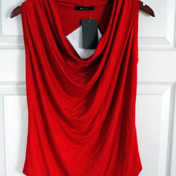 41Hawthorn Isadora Cowl Sleeveless Jersey Top