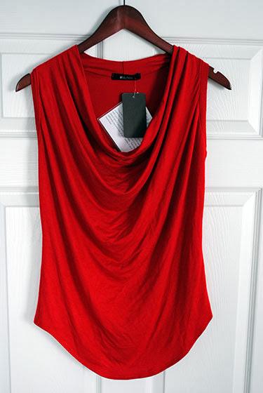 41Hawthorn Isadora Cowl Sleeveless Jersey Top