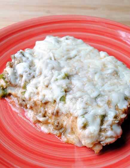Enchilada Casserole by So, How's It Taste?