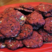 Milky Way Red Velvet Cake Cookies | So, How's It Taste?