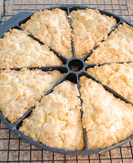 Candied Orange Peel Scones | So, How's It Taste?