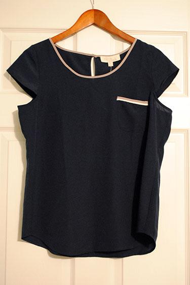 Olive & Oak Kiara Front Pocket Cap Sleeve Top | So, How's It Look?