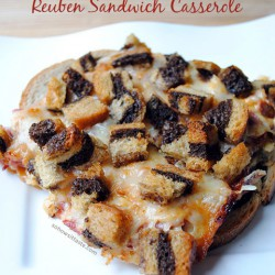 Reuben Sandwich Casserole | So, How's It Taste?
