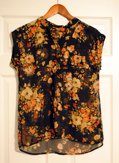 Sweet Rain Isaac Floral Print Short-Sleeve Blouse | So, How's It Look?