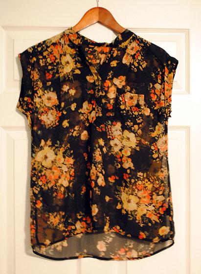 Sweet Rain Isaac Floral Print Short-Sleeve Blouse | So, How's It Look?