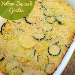 Zucchini & Yellow Squash Gratin