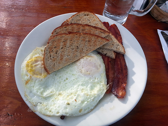 Build Your Own Breakfast, Pepe's
