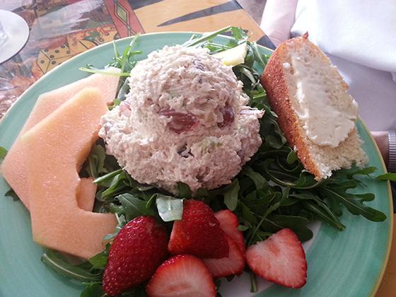 Chicken Salad, Blue Heaven