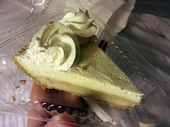 Coconut Key Lime Pie, Key Lime Pie Factory