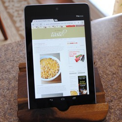 Threshold Wood Kitchen Tablet Holder