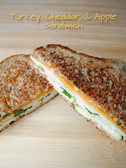 So, How's It Taste? Grilled Turkey, Apple, and Cheddar Sandwich
