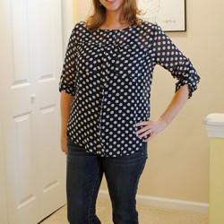 Papermoon Wynn Polka Dot Blouse