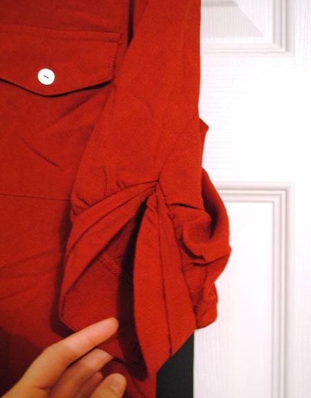 41Hawthorn Filbert 3/4 Sleeve Popover Blouse