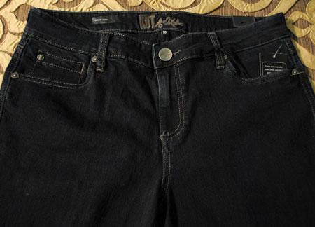 Kut from the Kloth Denna Dark Wash Skinny Jean