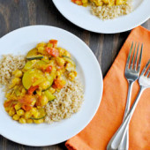 Chickpea & Vegetable Tagine