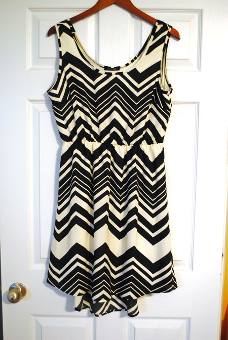Papermoon Mada Chevron Sleeveless Dress