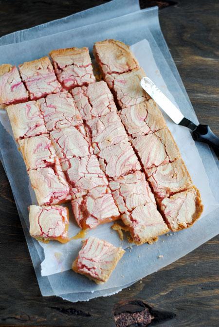 Lemon Cranberry Pie Bars