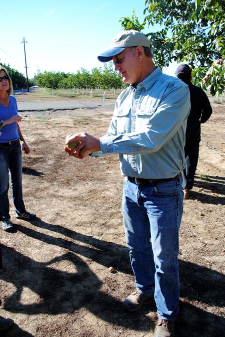 2014 California Walnut Harvest Tour