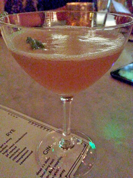 Sinema Nobody Puts Bourbon in a Corner