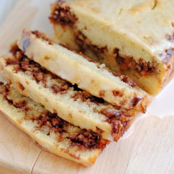 Cinnamon Roll Quick Bread