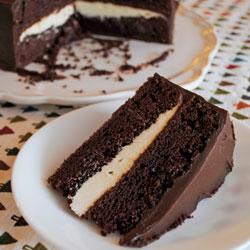 Deep Dark Mocha Cake