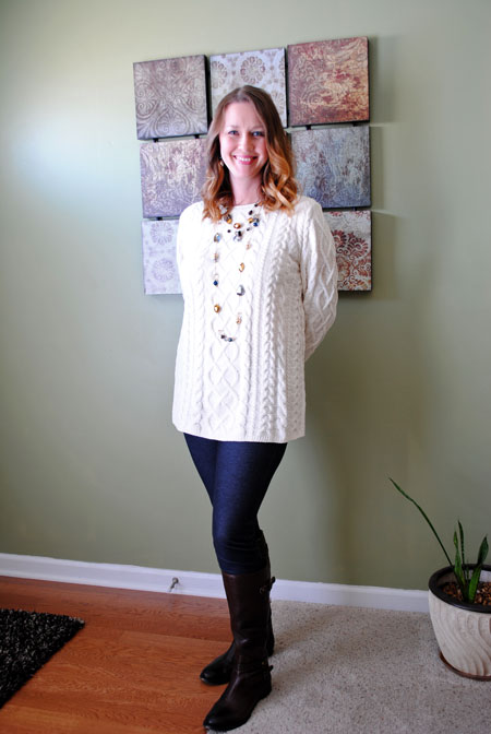 Long Sweater / Jeggings