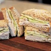 Turkey Cucumber Dill Sandwich