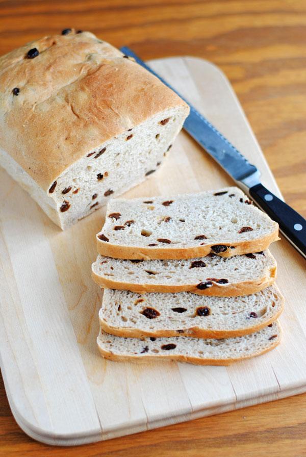 Bread Machine Cinnamon Raisin Bread