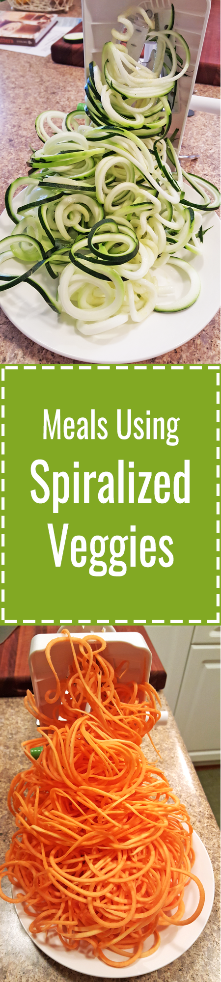 Meals Using Spiralized Veggies