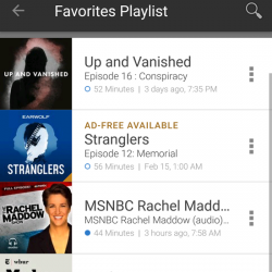 Podcast Favorites Playlist