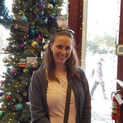 Christmas Tree in San Antonio Visitors Center