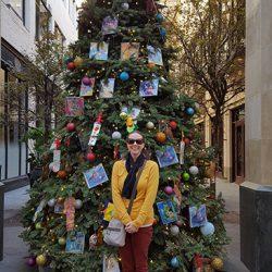 Christmas Tree at Houston Street Court