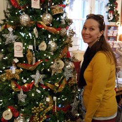 Christmas Tree at Guenther House Gift Shop