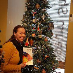 Christmas Tree at San Antonio Museum of Art