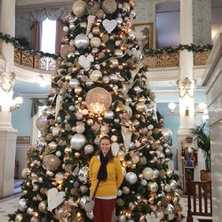 Christmas Tree at The Menger Hotel