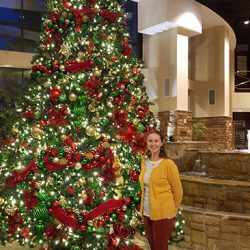 Christmas Tree at Embassy Suites Riverwalk